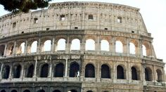 Rome, Italy.  The Colosseum.
