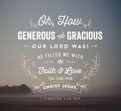 1 Timothy 1:14