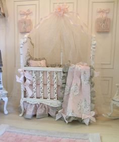 Madalyn's Nursery Class and Kit : Cynthia Howe Miniatures!, Your premier source for Dollhouse Miniatures, Miniature Classes, Miniature Dolls and Molds, Kits and Free Tutorials.