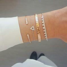 Combo du jour avec les bracelets Zoé, Kevin, Marley et Noah en argent et plaqué or rose. -10% sur tout le site avec le code promo : VP2017 sur www.asoabijoux.com
