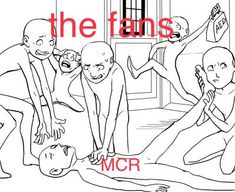 real<<< why is that one listening to MCR's foot<that's how desperate we are to know if MCR is alive we look everywhere