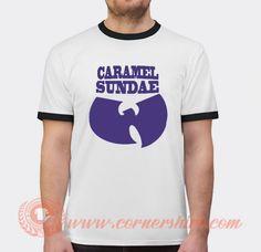 Wu Tang Ice Cream Caramel Sundae T-shirt Price: 17.00 & FREE Shipping #hypeshirt Wu Tang T Shirt, Custom T, Custom Design, Popular Clothing Stores, Shirt Price, Caramel, Ice Cream, Free Shipping, Gelato