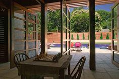 City Retreat - contemporary - patio - nashville - Gilbert | McLaughlin | Casella Architects, PLC