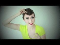 Karmin Suicide Roll Hair Tutorial by lorena