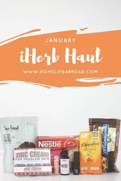 January 2017 iHerb Haul