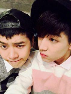 Jackson and BamBam #Got7