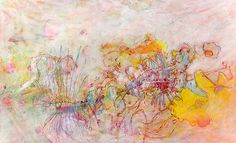 in Walking on Water'' - oil and resin on canvas - 28'' x 36''  - Lennon Michalski 2010