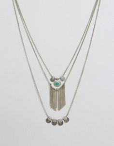 Pieces Beluna Multirow Necklace