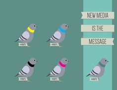 Idea for the NMPD graduation Showcase, everyone liked the pigeons!