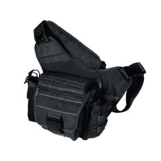 UTG Tactical Messenger Bag, Black