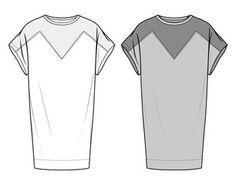 DRESS fashion flat sketch template - Buy this stock vector and explore similar vectors at Adobe Stock Fashion Flats, Fashion Dresses, Flat Sketches, Design Elements, Adobe, Stock Photos, Kohls, Video, Vectors