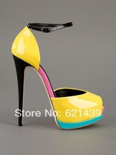 3 color Original Quality New 2014 summer trendy fashion sexy high heel sandal, women fashion sandal wedge $88.00