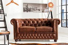 Sedačka chesterfield 3 vintage leather chesterfield vintage