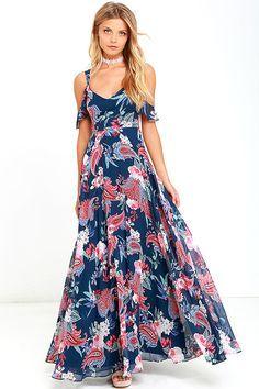 modelos de Vestidos largos casuales