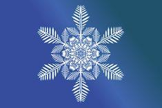 Snow Flake, Crystal, Snow, Winter