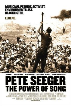 Pete Seeger documentary poster