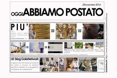 OGGI abbiamo postato 20 novembre 2014 - gaianetwork