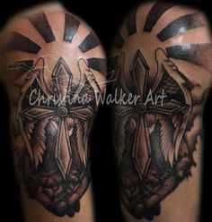 22 Best Religious Half Sleeve Tattoos Images Arm Tattoo Arm