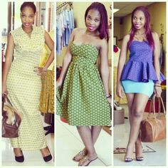 African fashion is available in a wide range of style and design. Whether it is men African fashion or women African fashion, you will notice. African Traditional Dresses, Traditional Wedding Dresses, Seshoeshoe Designs, Shweshwe Dresses, African Fashion Designers, African Wear, African Style, Belle Dress, Africa Fashion