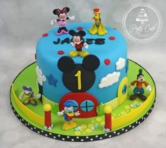 Mickey And Friends Disney Clubhouse Birthday Cake…