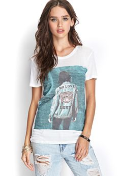 No Love Lost Tee | FOREVER21 #SummerForever #GraphicTee
