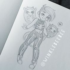 regram @winklebeebee June 8th #dailydrawing is Day 1 of the #30DayDrawingChallenge [Bones]. I guess I'm still gonna be drawing cute girls lol #art #artstagram #drawing #illustration #sketch #sketchbook #sketching #doodle #pencilsketch #prismacolor #bones #skeleton #design #instaart #igdraws #creative_instaarts #abeautifulmessapp