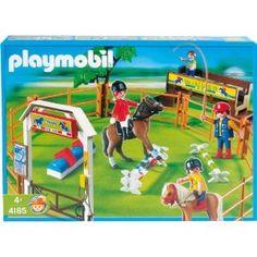 playmobil horse dressage