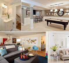 11 Clever Ways to Decorate a Windowless Room - http://www.amazinginteriordesign.com/11-clever-ways-to-decorate-a-windowless-room/