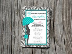 Mod Tiffany Blue and Grey / Silver Damask by ATimeAndPlaceDesign, $12.00