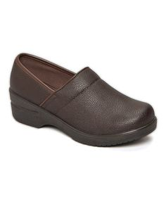 This Brown Classic Clog is perfect! #zulilyfinds