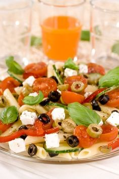 "From ""Greek Pasta Salad"" story by Hayley on Storify — http://storify.com/Hayley14/greek-pasta-salad"