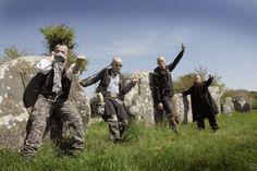 Les ramoneurs de menhirs, groupe de punk venu de Bretagne, en concert à Eysus