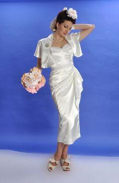 Vivien of Holloway 1950's Fashion - Mid Century Chic for the Modern Day Bride... - Love My Dress Wedding Blog