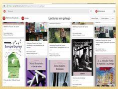 Biblioteca Rosalía de Castro : Ler en galego