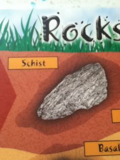 SCHIST IS AN ACTUAL TYPE OF ROCK PEOPLE!!!!