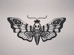 tattoos cover tattoos tattoo drawings tatoos death head moth tattoo ...