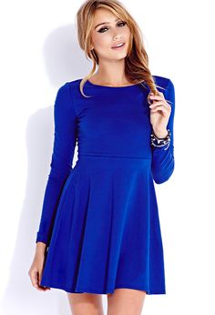 Casual Fit & Flare Dress | FOREVER21 - 2040495487