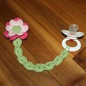 Garden Whimsy Soother Clips Patterns - via @Craftsy