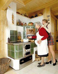 Herde - Golobinjek GmbH Old Stove, Stove Oven, Kitchen Stove, Rustic Kitchen, Vintage Kitchen, Vintage Stoves, Round Kitchen, Magic Chef, Vintage Appliances