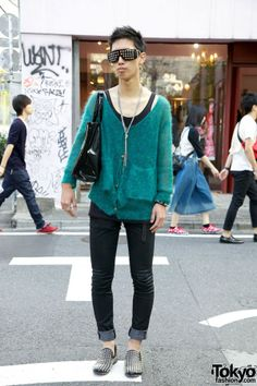 April 77 Skinny Jeans & Louboutin Shoes in Harajuku