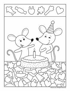 These free hidden picture puzzles will keep help kids improve their observation and tracking skills. And, it'll keep them busy and having fun. Preschool Worksheets, Kindergarten Activities, Activities For Kids, Crafts For Kids, Hidden Picture Puzzles, Hidden Objects, Color Activities, Art Wall Kids, Party Printables