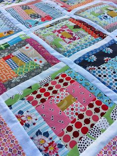 baby burrito quilts - Need to do this with ALL THE SCRAP FABRIC CHRIS & TARA JUST BROUGHT ME!!!!!