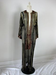 1920's Assuit dress, Middle Eastern. Made it's way to Texas during the Orientalist craze