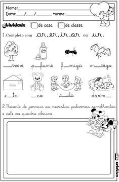 ATIVIDADES DE EDUCAÇÃO INFANTIL  E MUSICALIZAÇÃO INFANTIL: Atividades de Português 2º ano