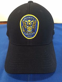 Ashland Ma Police Flex Fit Hat Cap S/M Pacific Headwear Massachusetts Black  #pacific #BaseballCap