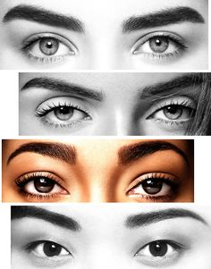 lovely eyebroes and eyes