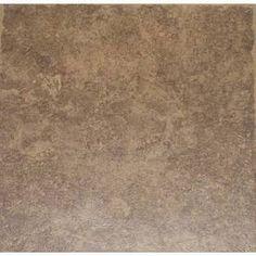 La Balantina Brown La Balantina Brown/Matte Ceramic Floor Tile (Common: 12-in x 12-in; Actual: 11.82-in x 11.82-in)