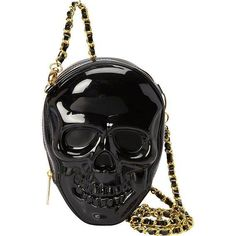 Loungefly 3D Molded Skull CrossBody Bag