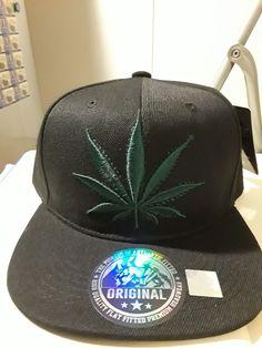 Baseball Cap Snapback Hip Hop Hat Weed Leaf Pot Cannabis Marijuana  Adjustable  fashion  clothing 18d94f8de5bf