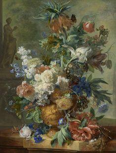 Still Life with Flowers, Jan van Huysum, 1723